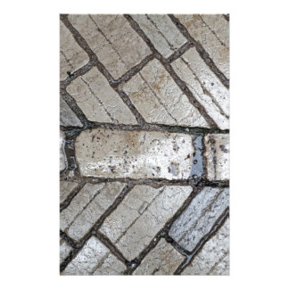 Wet paver blocks stationery