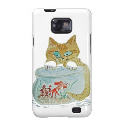 Wet Paws - Kitten get Away from the Goldfish! Galaxy SII Cover