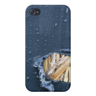 Wet plastic ripped iphone cover iPhone 4 cases