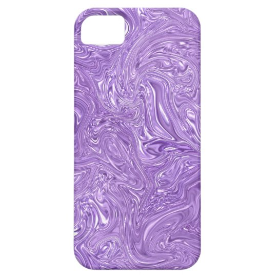 Wet Purple Abstract iPhone 5 Case