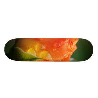 wet rose custom skate board