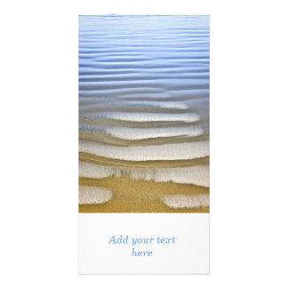 Wet sand ripples photo cards