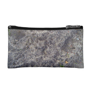 Wet Sand Surface After Rain Cosmetic Bag