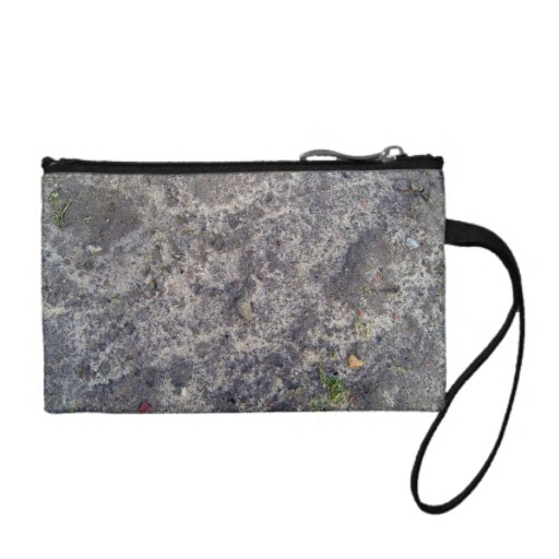 Wet Sand Surface After Rain Coin Wallets
