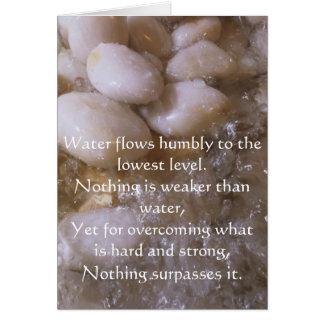 Wet Stones Card