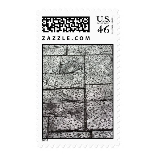 Wet Surface Postage Stamps