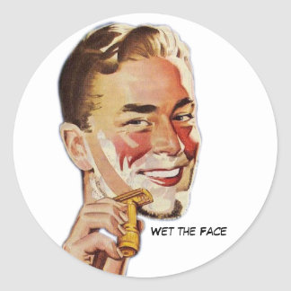 Wet The Face Stickers