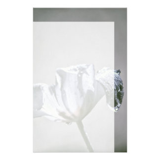 Wet Tulip Infrared Stationery