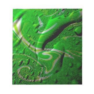 wet wallpaper green scratch pads
