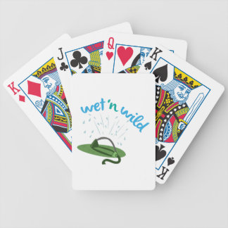 Wet & Wild Bicycle Playing Cards