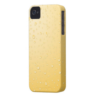 Wet yellow iPhone 4 cover