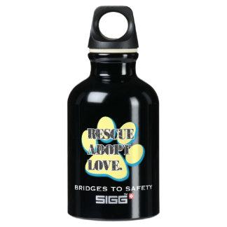 Wet Your Whistle Aluminum Water Bottle