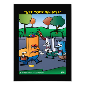"""""""Wet Your Whistle"""" Photographic Print"""