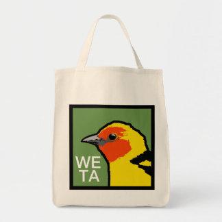 WETA cotton grocery bag
