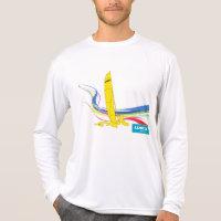 Weta Trimaran design on long-sleeve T-shirt