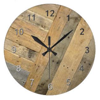 Wethered Wood Large Clock