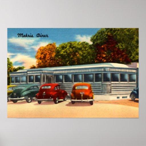 Wethersfield Connecticut Trailer Diner Cafe Restau Posters