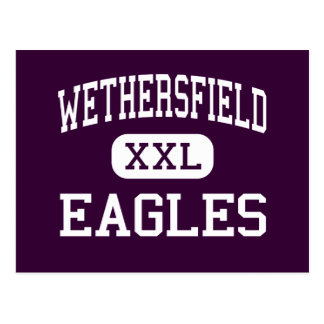Wethersfield - Eagles - High - Wethersfield Postcard