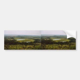 Wetland bog on YFNational Wildlife Refuge Bumper Stickers