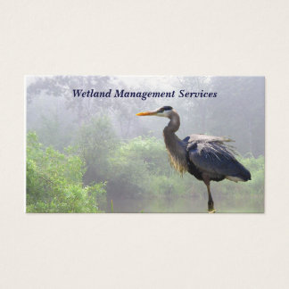 Wetland Management Business Card
