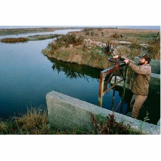 Wetland Managment, Humboldt Bay National Wildlife Acrylic Cut Out