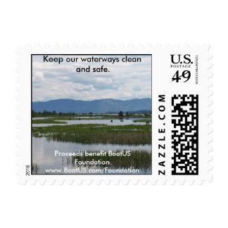 Wetland Postage