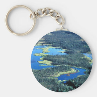 Wetlands and Spruce Forest Keychains