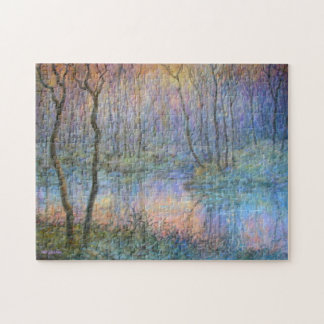 Wetlands at Sunset Jigsaw Puzzle