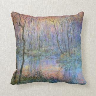Wetlands at Sunset Pillow
