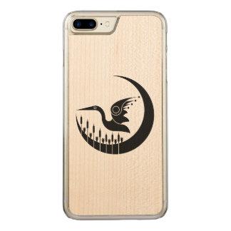 Wetlands Bird Carved iPhone 8 Plus/7 Plus Case