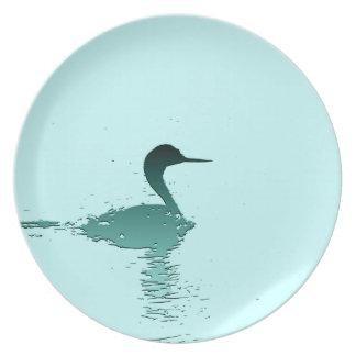 Wetlands Birds Wildlife Animal Photography Melamine Plate
