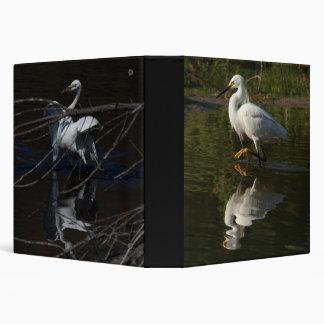 Wetlands Birds Wildlife Animals Photography 3 Ring Binder