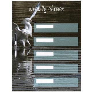 Wetlands Birds Wildlife Animals Photography Dry Erase Board