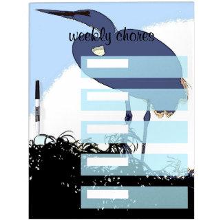 Wetlands Birds Wildlife Animals Photography Dry-Erase Board