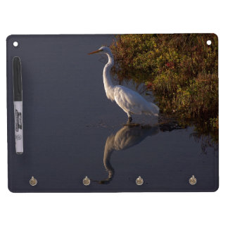 Wetlands Birds Wildlife Animals Photography Dry Erase Board With Keychain Holder