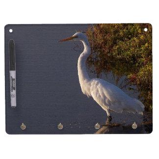 Wetlands Birds Wildlife Animals Photography Dry Erase Board With Keychain Holder