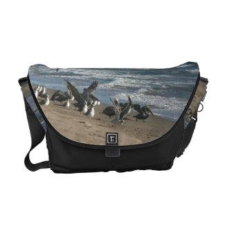 Wetlands Birds Wildlife Animals Photography Messenger Bag