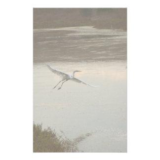 Wetlands Egret Stationery