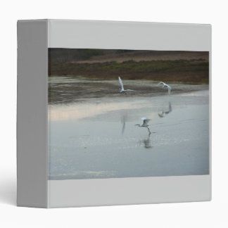 Wetlands Egrets Avery Binder