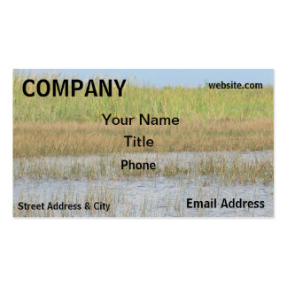 Wetlands Environment Everglades Business Cards