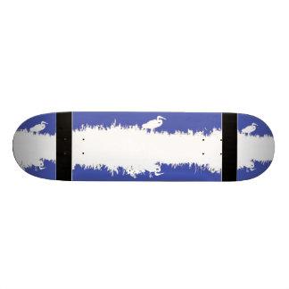 Wetlands Heron Art Skateboard
