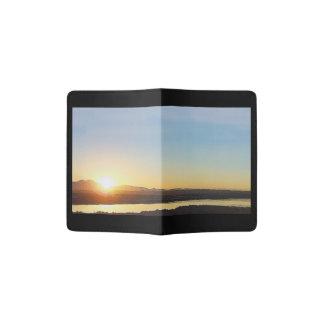 Wetlands Ocean Sunset Beach Passport Holder