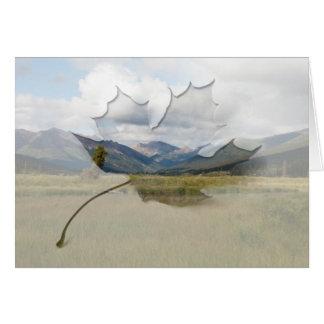 Wetlands Paradise; Customizable Card
