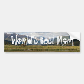 Wetlands Paradise; Happy Mother's Day Bumper Sticker