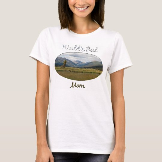 Wetlands Paradise; Happy Mother's Day T-Shirt
