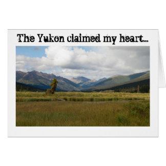 Wetlands Paradise; Yukon Territory Souvenir Card