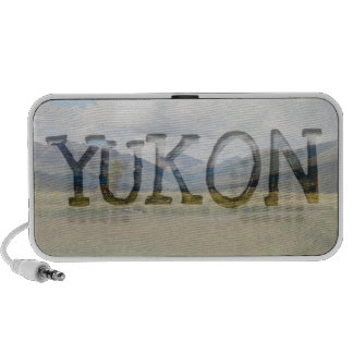 Wetlands Paradise; Yukon Territory Souvenir Laptop Speakers
