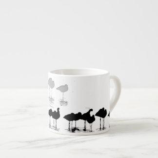 Wetlands Shorebirds Art Espresso Cup