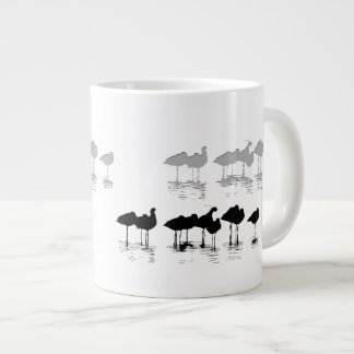 Wetlands Shorebirds Art Giant Coffee Mug