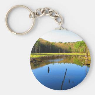 Wetlands Waterway Keychain